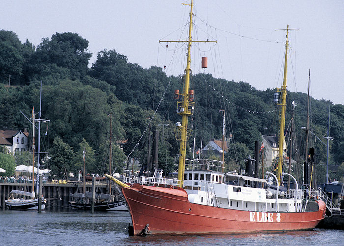 Elbe 3 pictured at Hamburg on 23rd August 1995