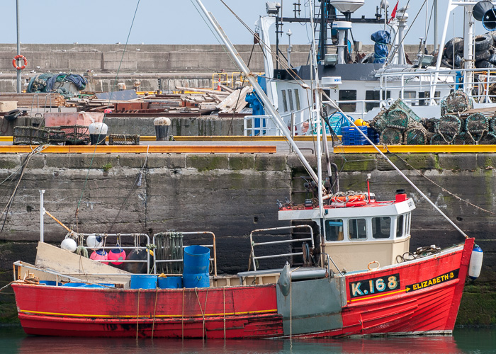 Elizabeth B pictured at Fraserburgh on 5th May 2014