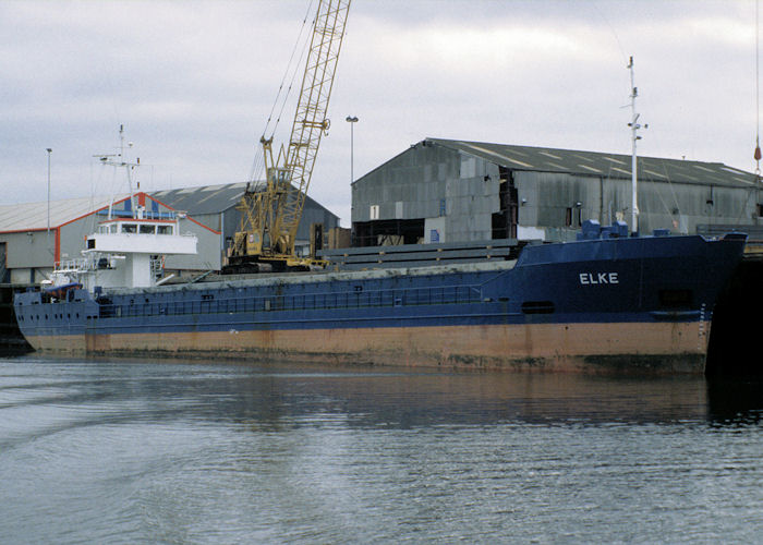 Elke pictured at Middlesbrough on 4th October 1997