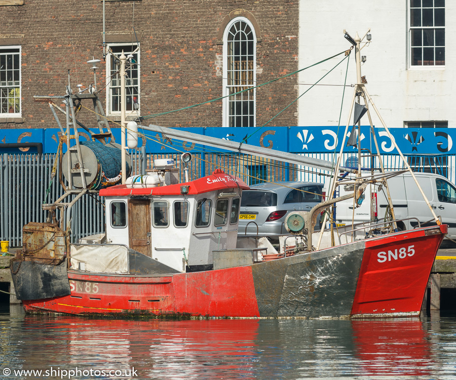 Emily Rose pictured at the Fish Quay, North Shields on 27th May 2017