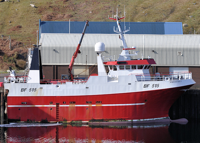 Endeavour IV pictured at Kinlochbervie on 13th April 2012
