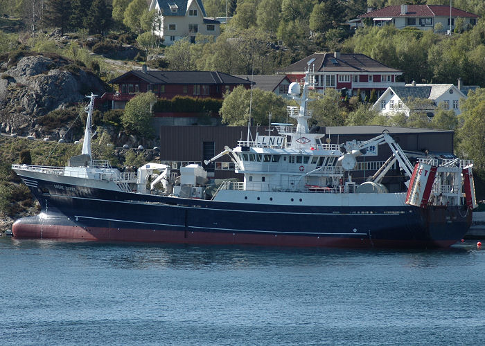Endre Dyrøy pictured at Bergen on 12th May 2005