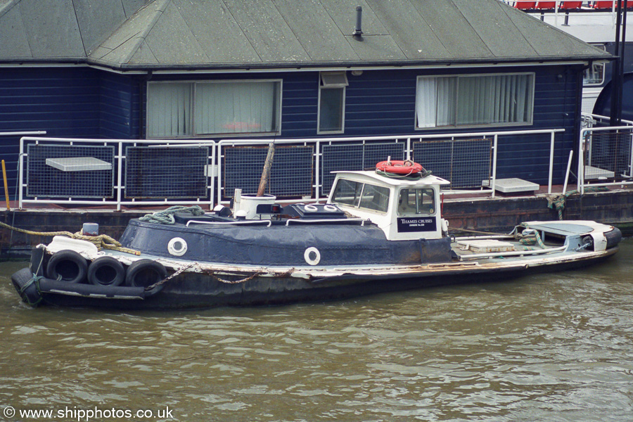 Ensign pictured in London on 3rd September 2002