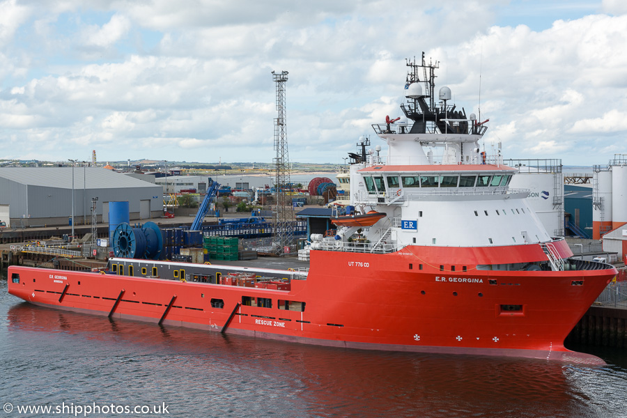 E.R. Georgina pictured at Aberdeen on 17th May 2015