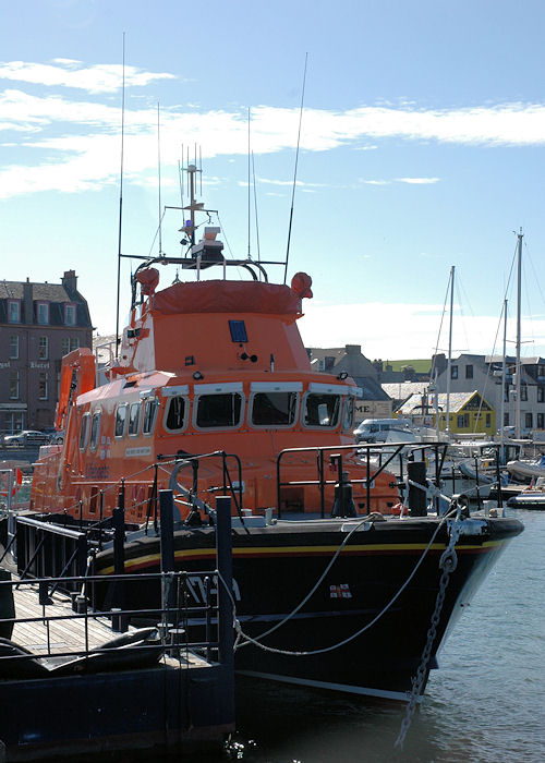 Ernest and Mary Shaw pictured at Campbeltown on 3rd May 2010