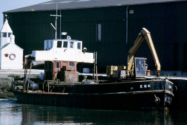 Esk pictured in Glasson Dock on 27th July 1999