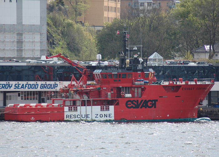 Esvagt Corona pictured at Bergen on 13th May 2005