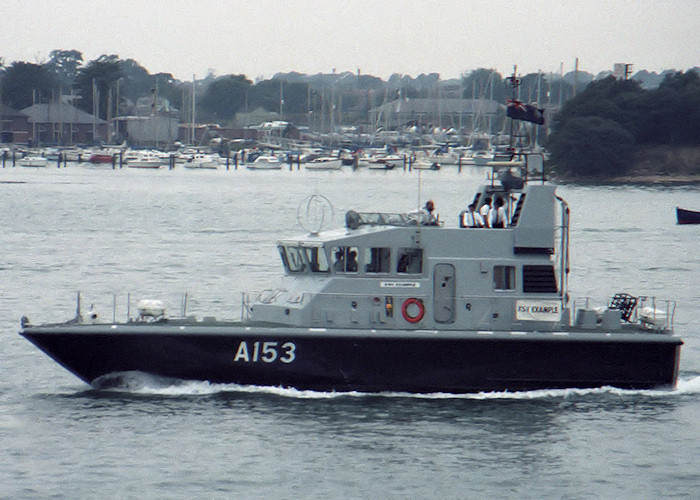 Example pictured in Portsmouth Harbour on 29th August 1987