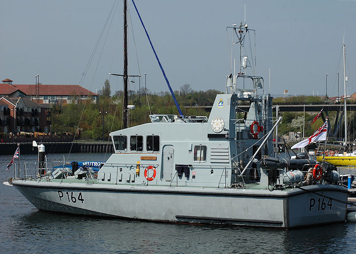 Explorer pictured at Royal Quays, North Shields on 6th May 2008