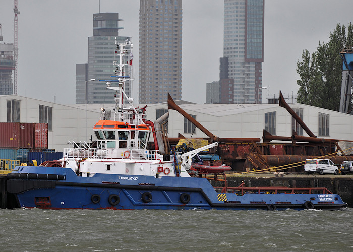 Fairplay 27 pictured in Waalhaven, Rotterdam on 24th June 2012