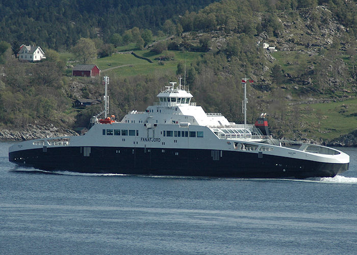 Fanafjord pictured near Bergen on 5th May 2008