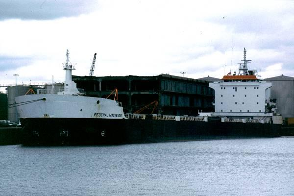 Federal Mackenzie pictured in Liverpool on 19th July 1999