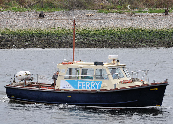 Fencer pictured at Aberdeen on 15th May 2013