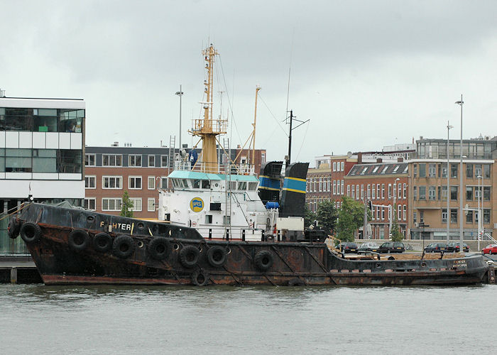 Fighter pictured laid up in Schiehaven, Rotterdam on 20th June 2010