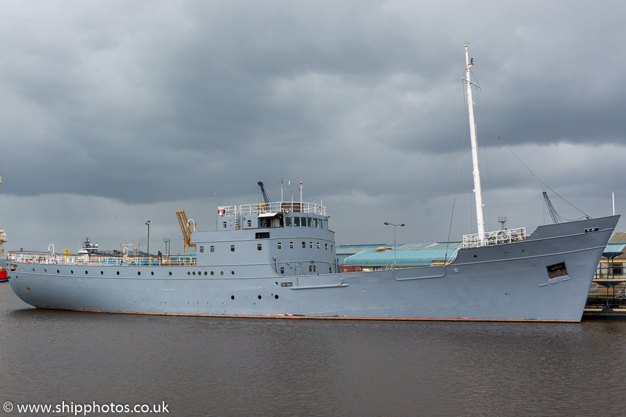 Fingal pictured at Leith on 14th April 2017