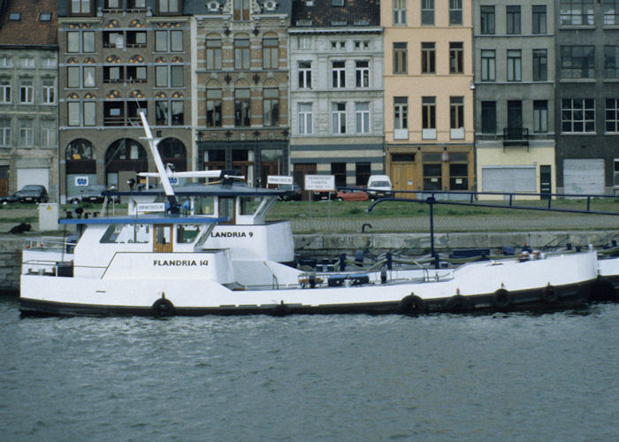Flandria 14 pictured in Antwerp on 19th April 1997