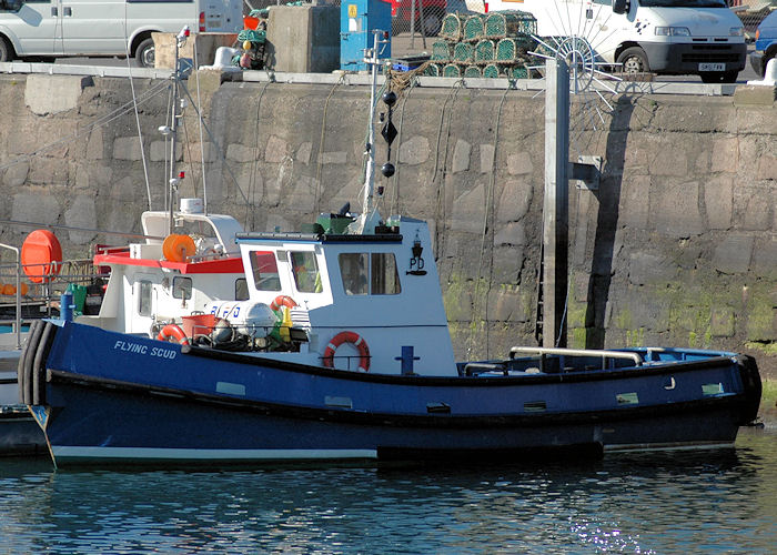 Flying Scud pictured at Peterhead on 28th April 2011