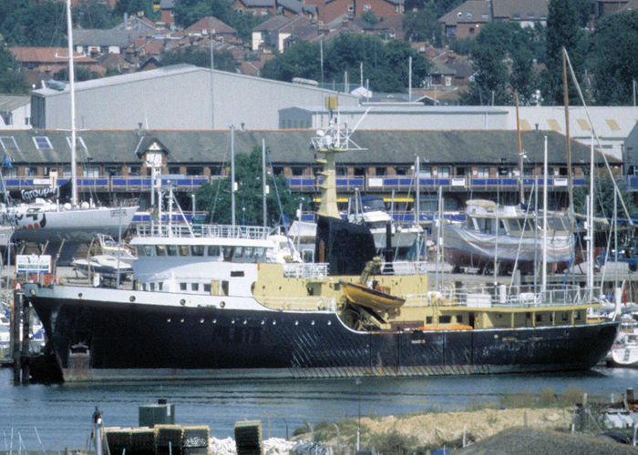 Fomalhaut pictured at Southampton on 14th August 1997