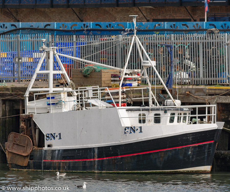 Frem W pictured at the Fish Quay, North Shields on 11th August 2018