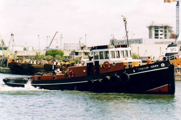 Friston Down pictured in West India Dock, London on 13th June 2000