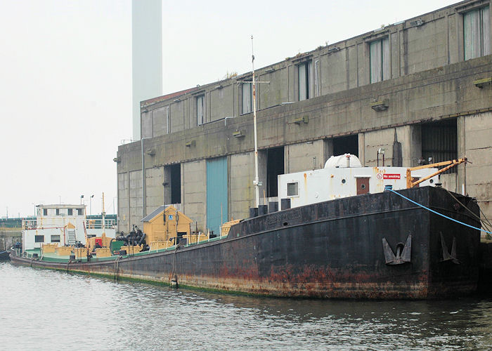 Furness Fisher pictured laid up in Liverpool Docks on 27th June 2009