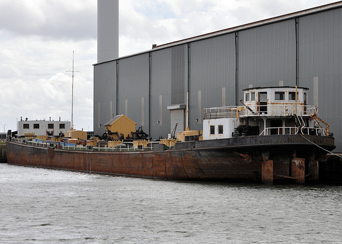 Furness Fisher pictured laid up in Liverpool Docks on 22nd June 2013