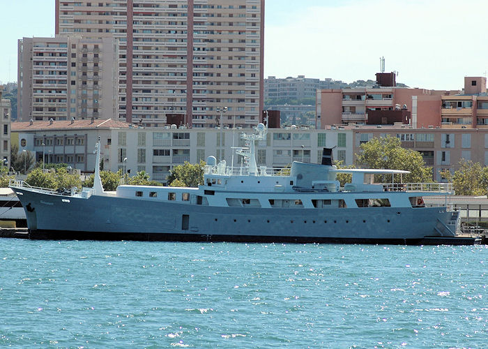 Galapagos pictured at Toulon on 9th August 2008