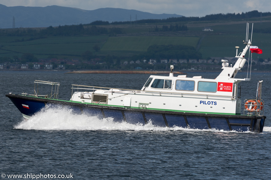 Gantock pictured at Greenock on 5th June 2015