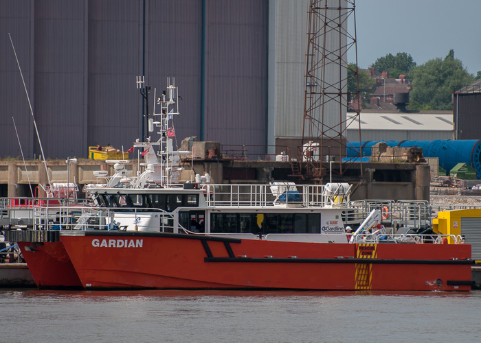 Gardian pictured at Liverpool on 31st May 2014