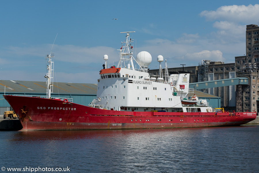 Geo Prospector pictured at Leith on 3rd July 2015