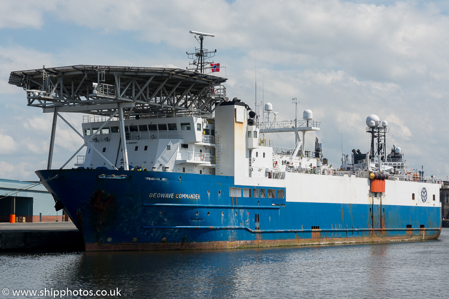 Geowave Commander pictured at Leith on 3rd July 2015