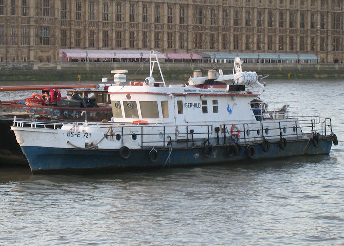 Gerhild pictured at Lambeth on 26th October 2009