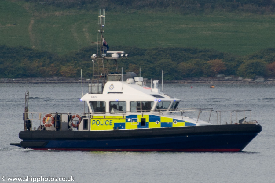 Gigha pictured at Greenock on 15th October 2015
