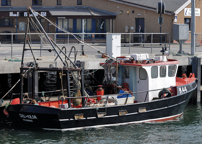 Girl Kilda pictured at Stromness on 8th May 2013