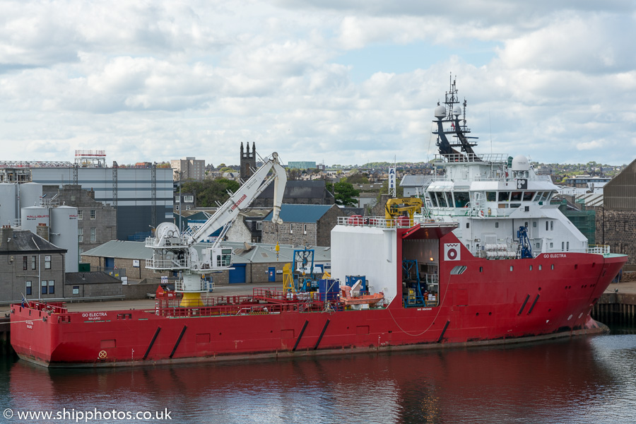 Go Electra pictured at Aberdeen on 17th May 2015