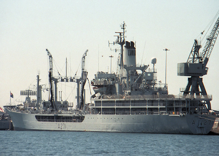 Gold Rover pictured at Portland Naval Base on 6th August 1988