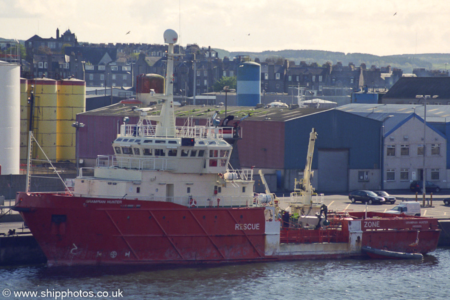 Grampian Hunter pictured in Aberdeen on 8th May 2003