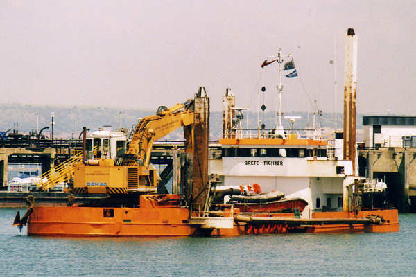 Grete Fighter pictured in Gosport on 8th June 2000