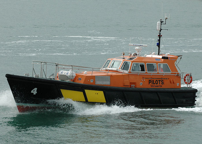 Hampshire pictured departing Portsmouth Harbour on 14th August 2010