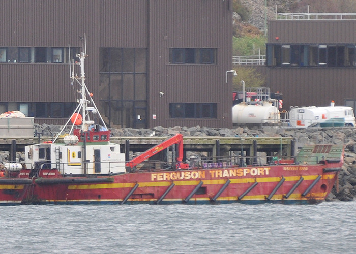 Harvest Anne pictured at Kyle of Lochalsh on 8th April 2012
