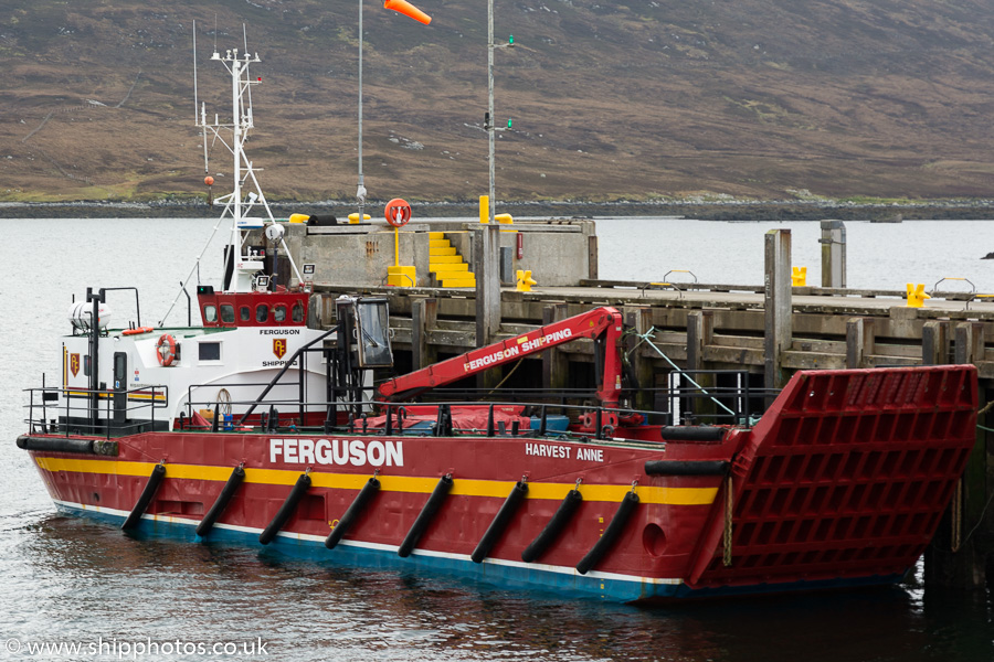 Harvest Anne pictured at Lochmaddy on 18th May 2016