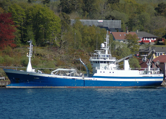 Havdron pictured in Bergen on 12th May 2005
