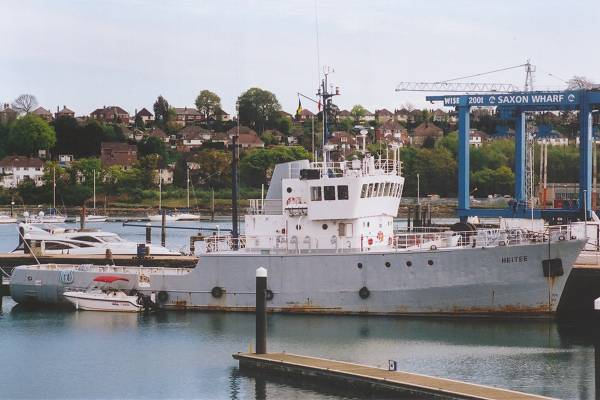 Heitee pictured in Southampton on 20th April 2002