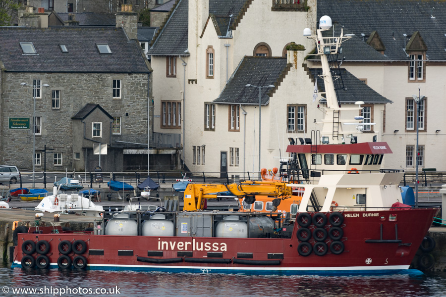Helen Burnie pictured at Lerwick on 18th May 2015