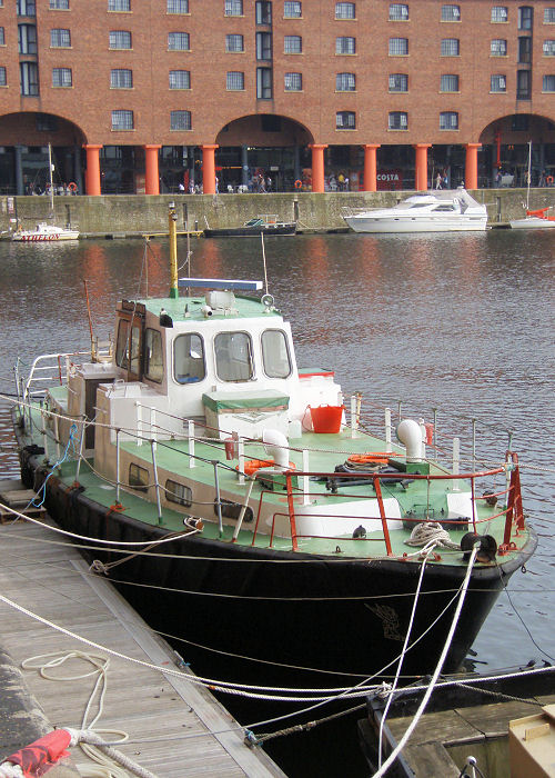 HL 7021 pictured in Albert Dock, Liverpool on 27th June 2009