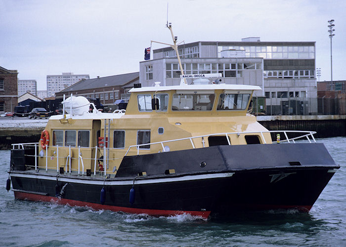 HL 8837 pictured in Portsmouth Harbour on 23rd September 1991