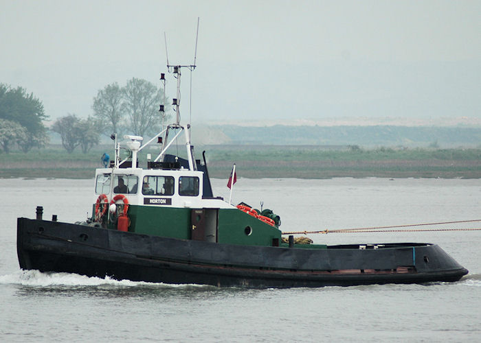Horton pictured on the River Thames on 22nd May 2010