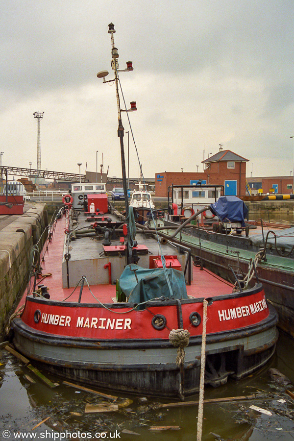 Humber Mariner pictured in Hull on 11th August 2002