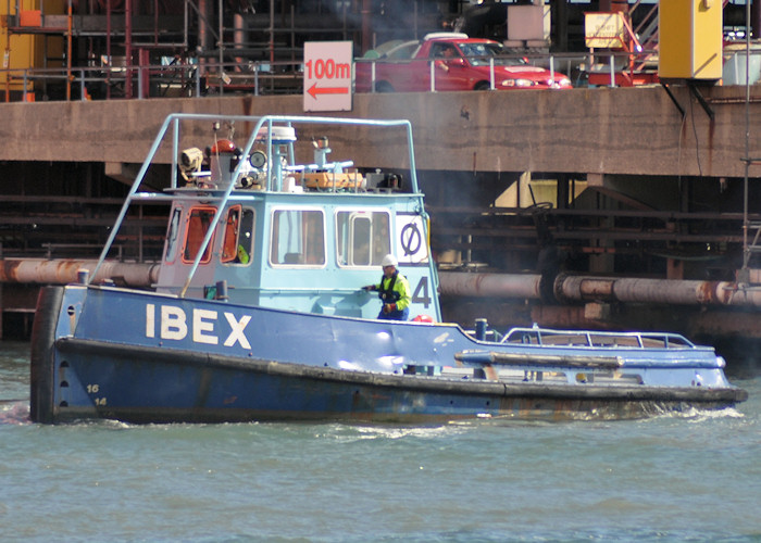 Ibex pictured at Fawley on 6th August 2011