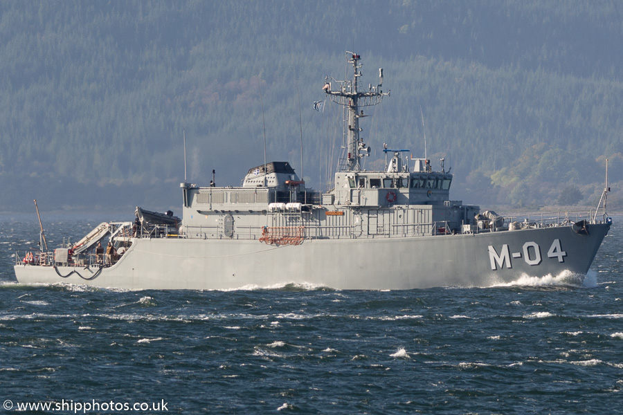 Imanta pictured passing Gourock on 6th October 2016